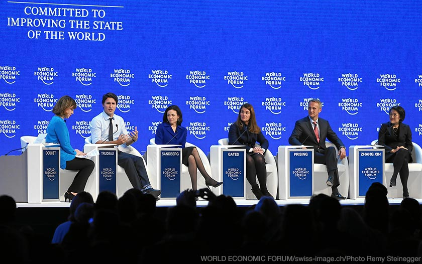 ManpowerGroup CEO, Jonas Prising on World Economic FOrum at Davos panil
